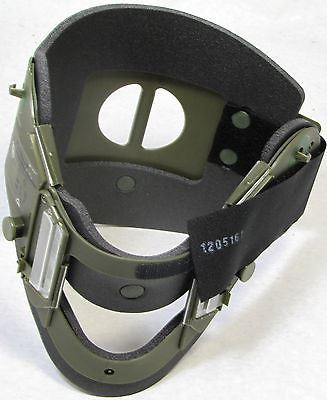 AMBU Military ACE Cervical Collar Neck Brace - OD Green - Army Medic EMT #612