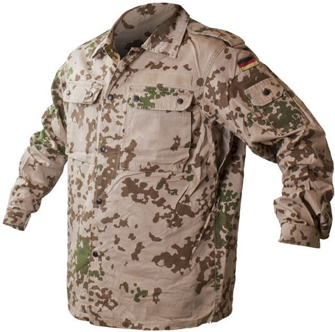 German Army Tropentarn Camo Shirt