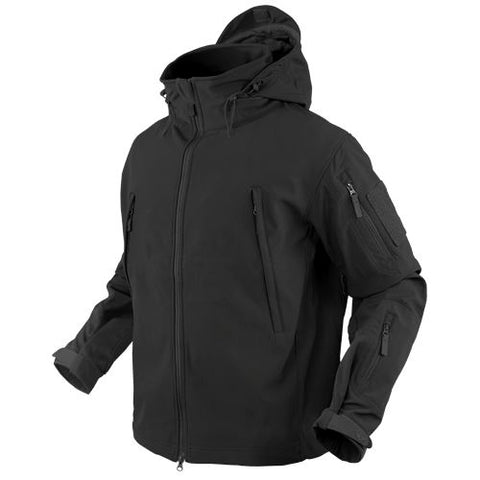 Condor SUMMIT Tactical Soft Shell Jacket - Black