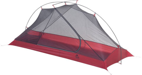MSR Carbon Reflex 1 Person Ultralight Tent - Only 1 lb, 7 oz