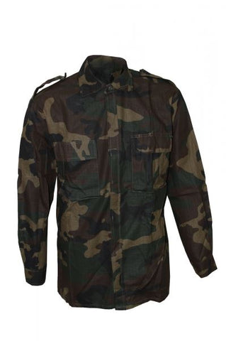 New Croatian Army Woodland Ripstop Shirt