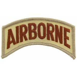 United States Army Airborne Patch Tan