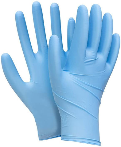 Synguard Nitrile Exam Gloves ( Choice of Size ) Box of 100