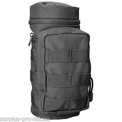 Condor - H2O Hydration Water Carrier Pouch - Black - Molle - #MA40