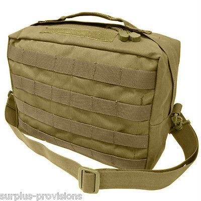 Condor - Tactical Utility Shoulder Bag - Tan - Molle Hunting Pack pouch #137