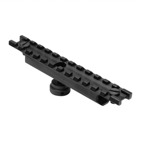 "Ar15 Carry Handle Adapter Weaver Mount 5""/ Us Forces Stanag Ring Compatible"