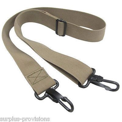 "Condor - 2 Point Tactical Shoulder Strap Adjustable 27"" to 47"" - Tan #232"