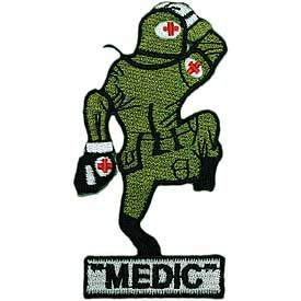 Army Medic Running EMT Medical Patch