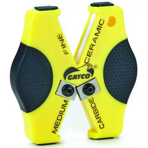 GATCO Double Duty Sharpener - Yellow