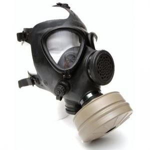 Israeli Military M15 Gas Mask with 40mm Filter
