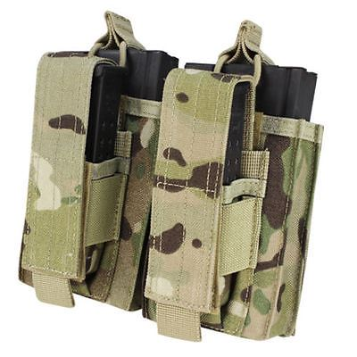 Condor 191040 Double Kangaroo Mag Pouch for 7.62 Rifle & Pistol Mags - Multicam