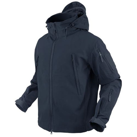 Condor SUMMIT Tactical Soft Shell Jacket - Navy Blue