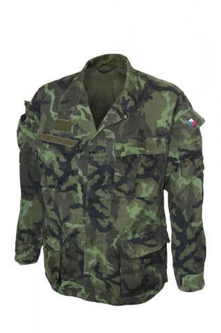 Czech Army Woodland Camo Jacket