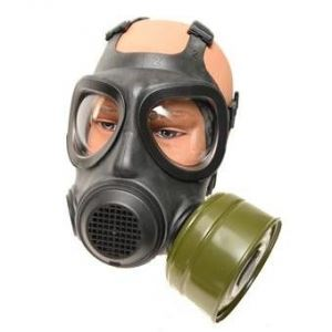 A4 Forsheda Gas Mask Respirator with Filter - Military Surplus