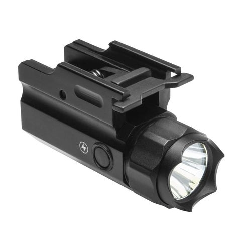 3W 150 LUMEN LED FLASHLIGHT QUICK RELEASE MOUNT/ WITH STROBE