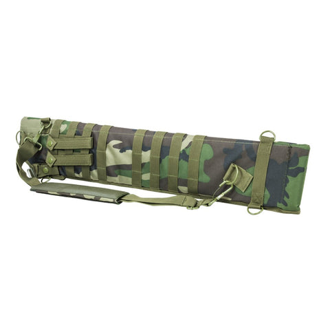 VISM® by NcSTAR® TACTICAL SHOTGUN SCABBARD/WOODLAND CAMO