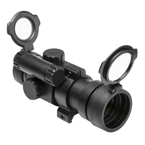 1X30  RED DOT SIGHT / WEAVER RING / POP LENS CAP