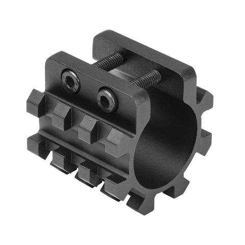 "12G SHOTGUN TRI-RAIL WEAVER MOUNT FOR 1"" MAG TUBE"