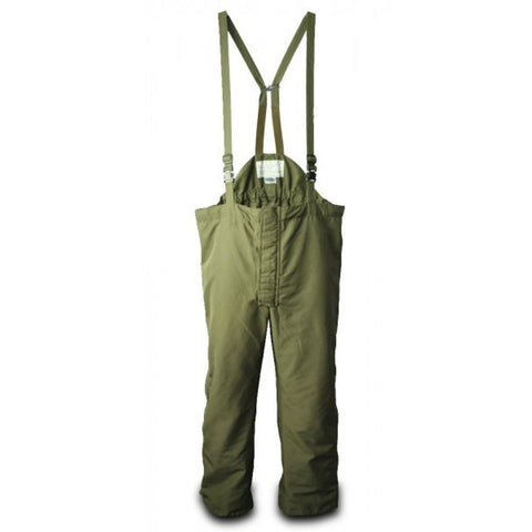 Austrian Army Waterproof Goretex Bib/Pants OD Green