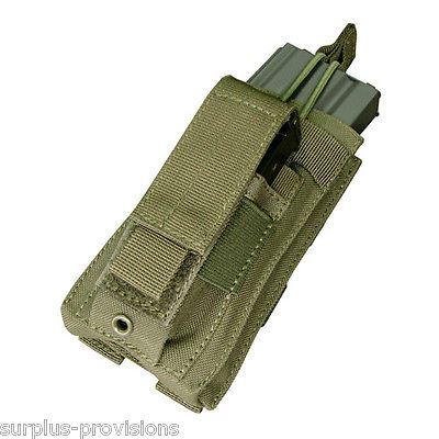 Condor - Single Kangaroo Mag Pouch - OD Green - Tactical clip Molle - #MA50