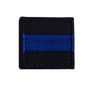"1x1"" Thin Blue Line Patch"