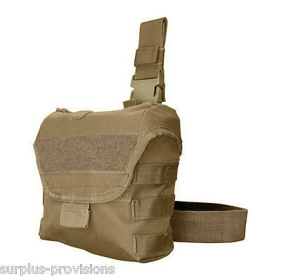 Condor - Drop Leg Dump Pouch - Tan - Quickly store discarded mags - #MA38