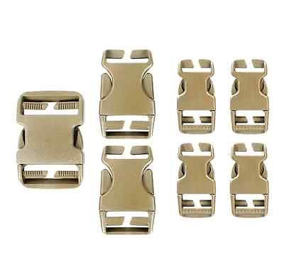 "Condor Buckle Repair Kit - Replacement 2"", 1.5"", & 1"" Buckles Tan #221067"