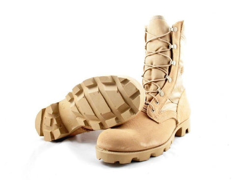 New US Army Desert Combat Boots