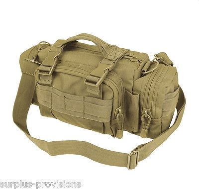 Condor #127 Tactical Deployment Bag Coyote - Molle Hunting Pack pouch