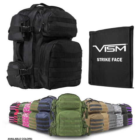 Bullet Proof Backpack Panel & Pack Level IIIA Armor Choice of Colors