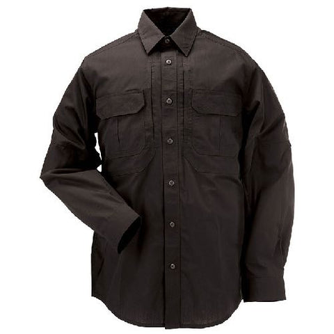 5.11 Tactical Taclite Pro Long Sleeve Shirt Color Black Choice of Size