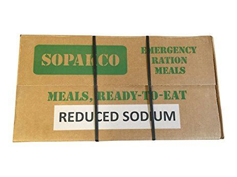 Case of 14 Sopako Army MRE with Heaters
