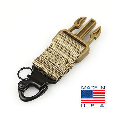 Condor Tactical Snap Shackle Kit Tan - Upgrade for Condor Slings #US1011
