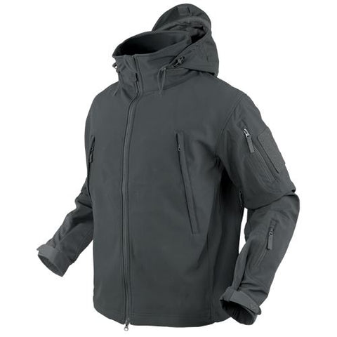 Condor SUMMIT Tactical Soft Shell Jacket - Graphite Gray