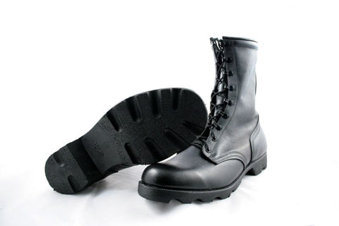 New US Army Black Leather Combat Boots