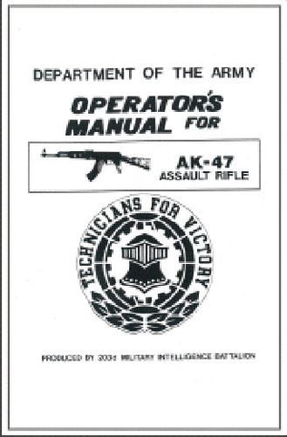 AK-47 Operators Manual
