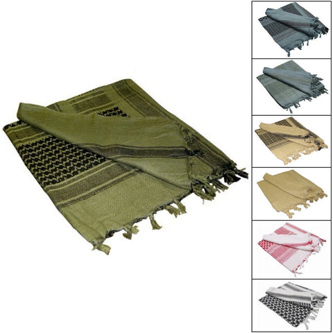 Condor Shemagh Tactical Scarf Head Wrap 100% Cotton - Choice of Color