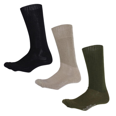Rothco Military Style Cushion Sole Socks - Large 9-12