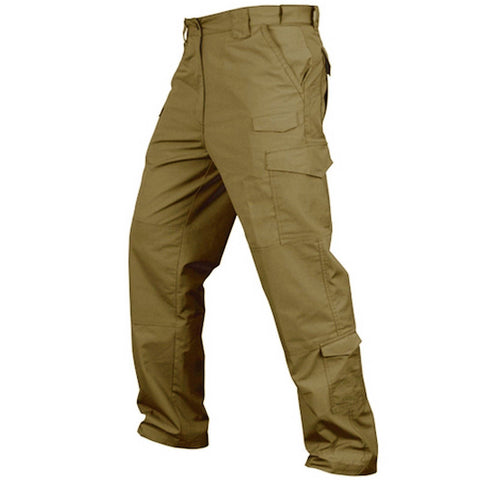 Condor Sentinel Military Style Tactical Cargo Pants - Coyote Tan