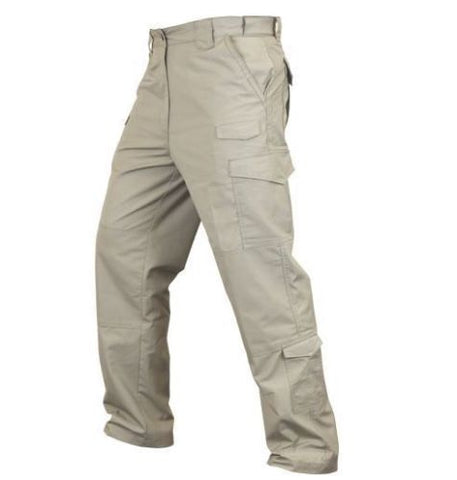 Condor Sentinel Military Style Tactical Cargo Pants - Khaki