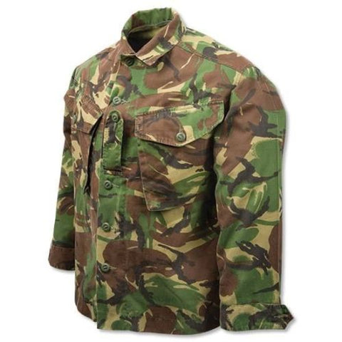 British Army Woodland DPM Camo Combat Shirt