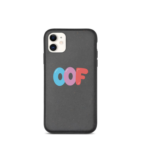 """OOF"" Biodegradable phone case"