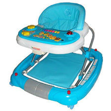 Deluxe Blue Musical Baby Walker Rocker Activity Play Centre