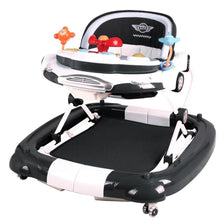 Car Theme Baby Walker Rocker Play Activity Centre Black