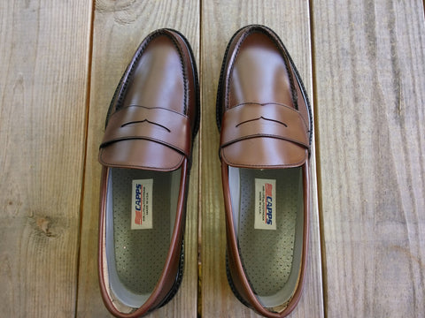 HALIFAX -  1010-860 - Penny Loafer Bown Leather
