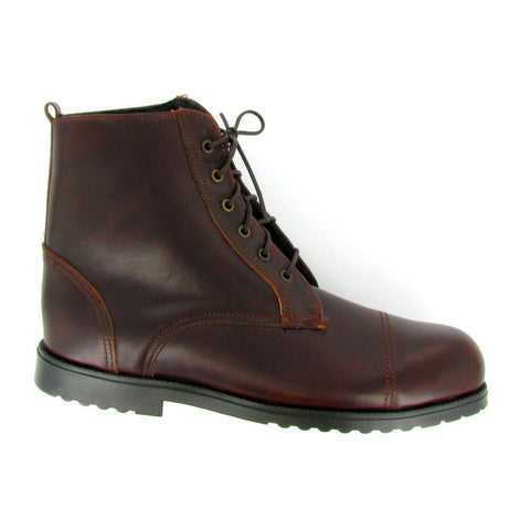 ST - BEBE - Women's Brown Leather Steel toe
