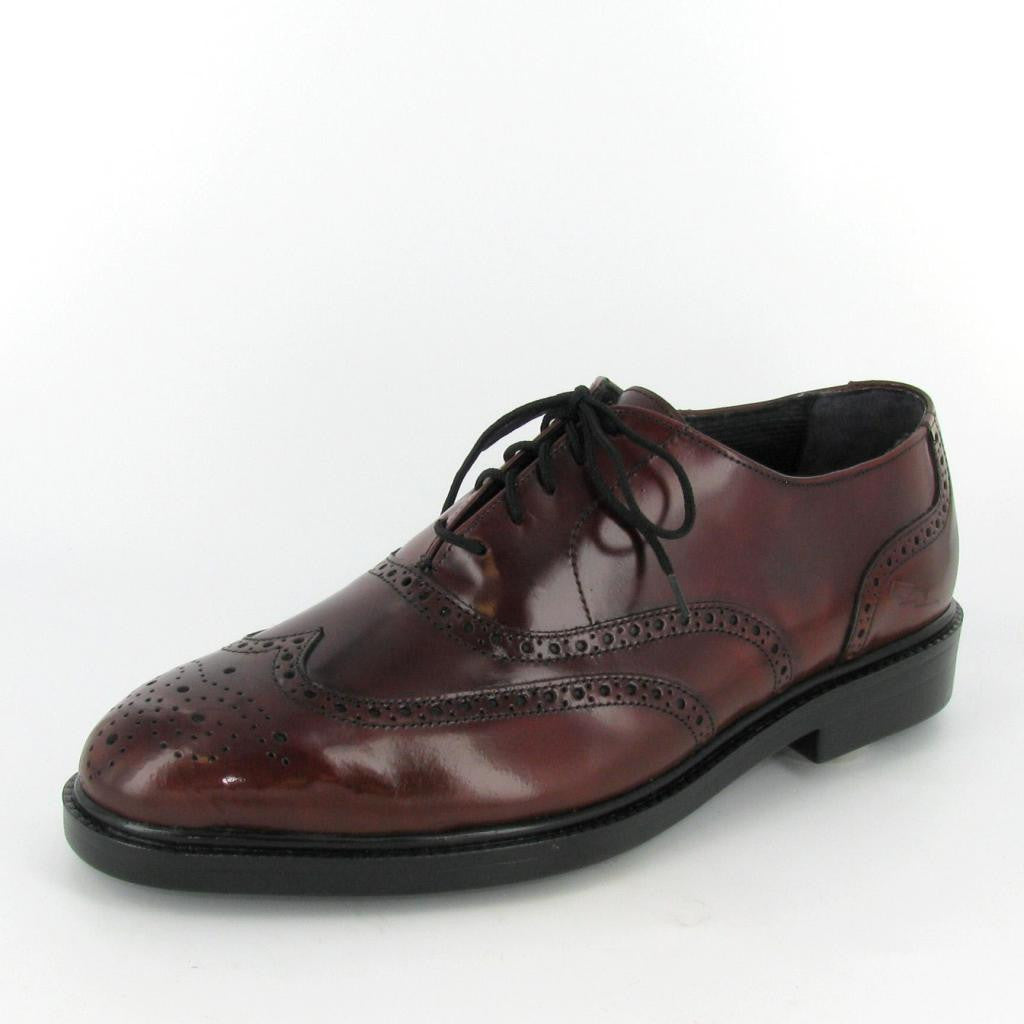 BRISTOL, Burgundy Leather
