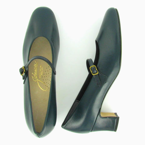 CHER - Navy Leather 6300-171