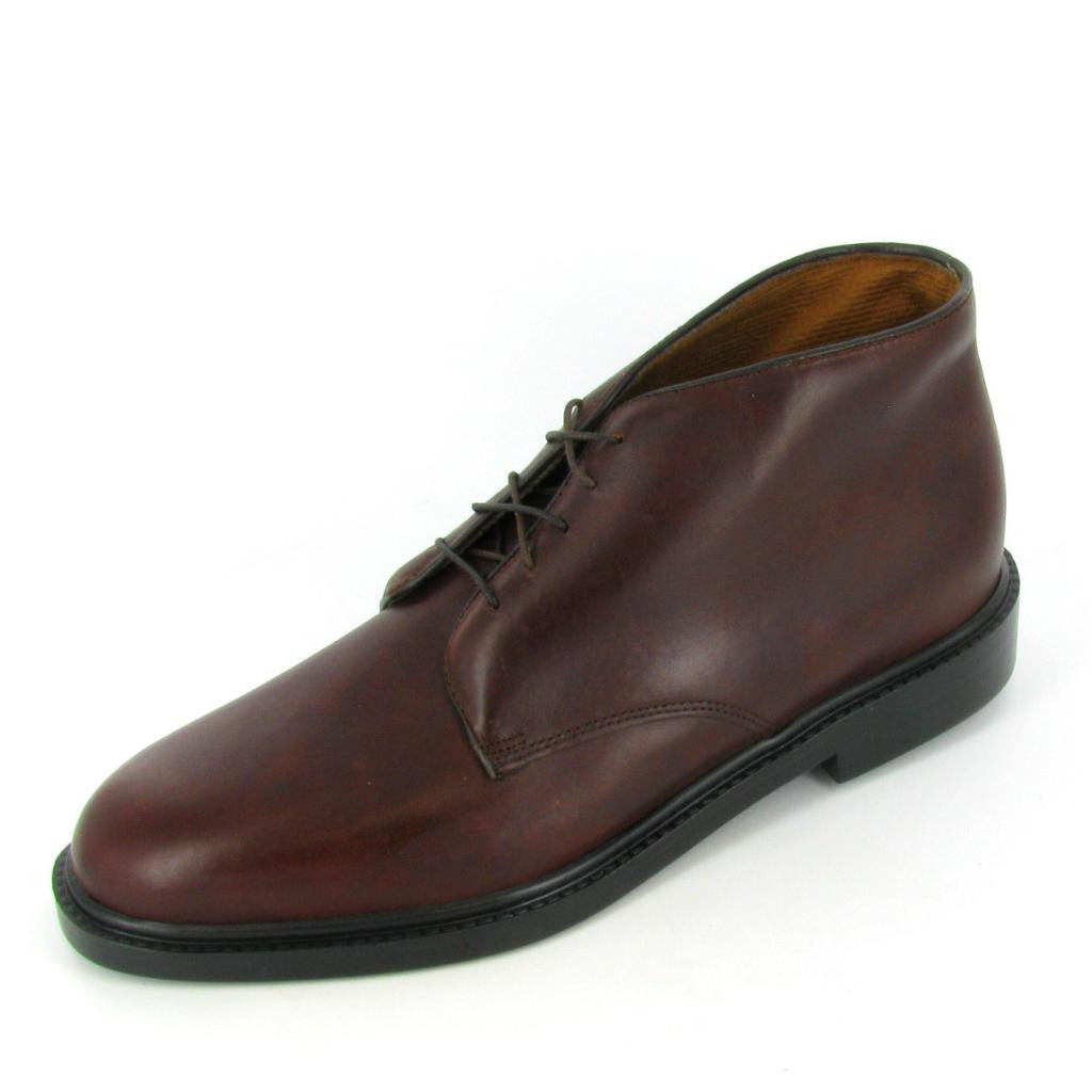 LIBERTY - 1012-832, Burgundy Leather Chukka Boot
