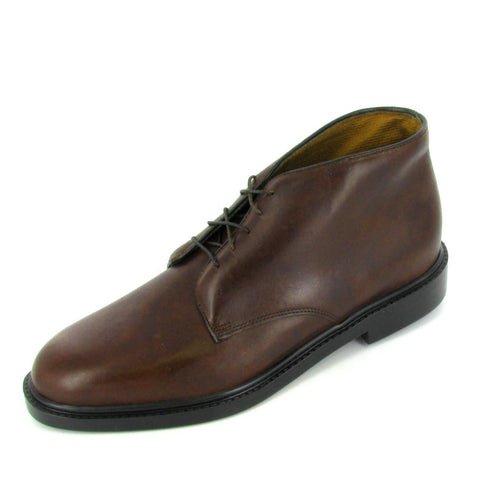LIBERTY - 1012-860-Oversize - Brown Leather Chukka Boot